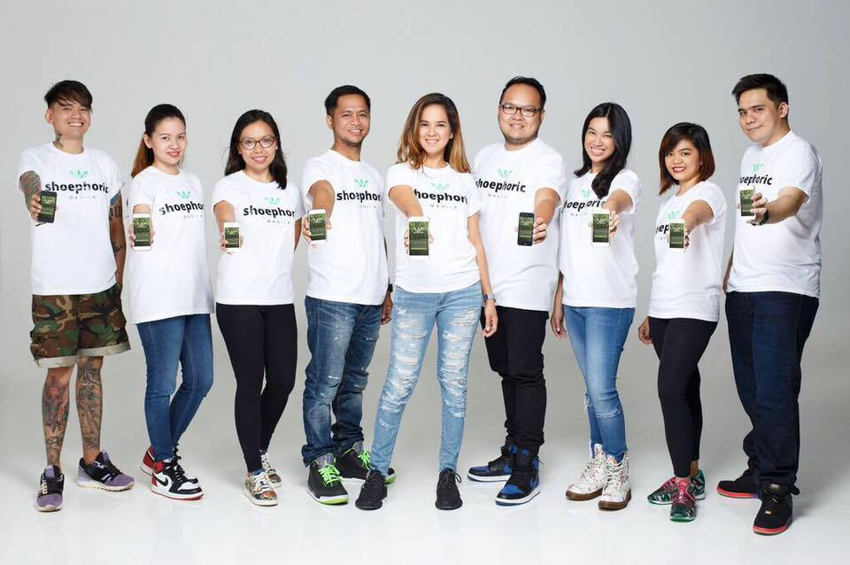 appstart team - Shoephoric App